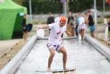 Zawody w skimboardingu w Katowicach. Kto wygrał? European Skimboarding Cup 2021 przed Galerią Libero w Katowicach