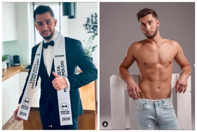 Sądeczanin dostał się do finału konkursu Mister Polski 2020. Zobacz zdjęcia przystojnego Przemka Wnęka