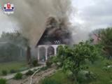 Lubartów. Tragiczny pożar na terenie ogródków działkowych. Znaleziono zwłoki mężczyzny