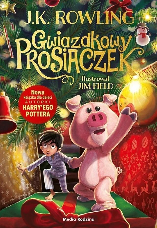 """Premiera najnowszej książki J.K. Rowling. """"Gwiazdkowy Prosiaczek"""" umili nam oczekiwanie na święta!"""