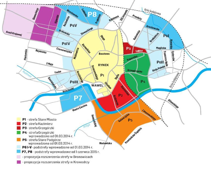 Krakow Poszerza Strefe Platnego Parkowania Krakow Nasze Miasto