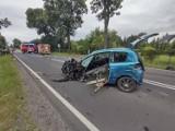 Wypadek w gminie Ładzice. W Jedlnie Pierwszym zginęła jedna osoba [AKTUALIZACJA]