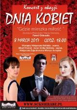 Koncert z okazji Dnia Kobiet w Sieradzu. 8 marca w teatrze. Można odbierać bezpłatne zaproszenia