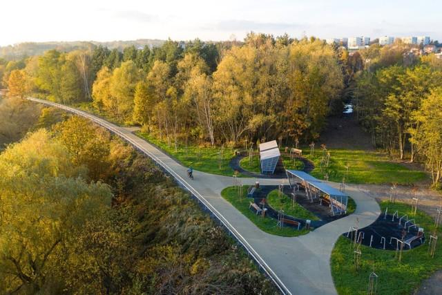 Żelazny Szlak Rowerowy otwarto przed rokiem.