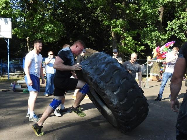 III Gminne Zawody Strongman w Dubinach