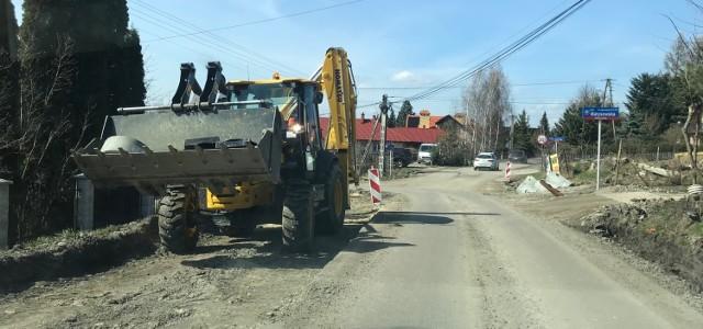 Tak wyglądały prace na ul. Matysowskiej w kwietniu tego roku. Od pewnego czasu nic się nie dzieje