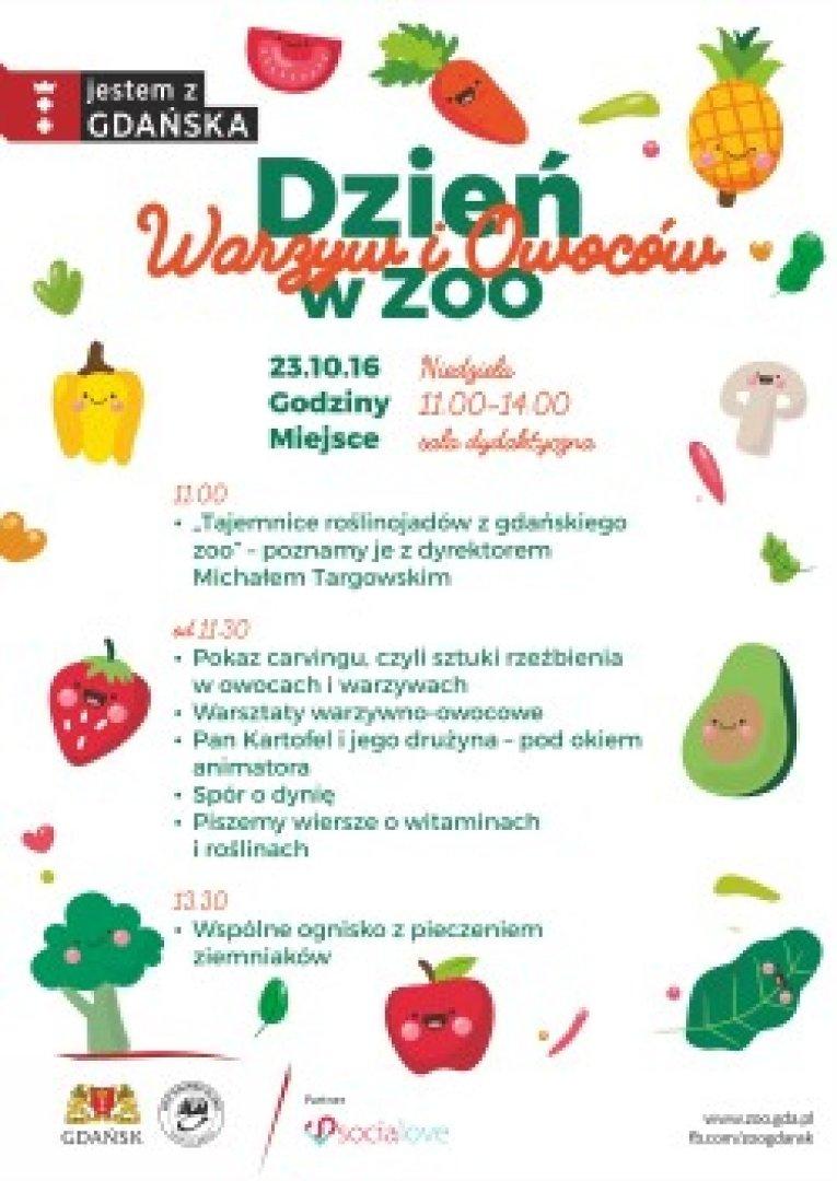 W Gdańskim Zoo W Niedzielę Dzień Warzyw I Owoców Gdańsk