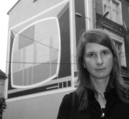 Monika Sosnowska i jej praca.