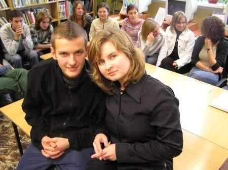 Sławek Potocki (z lewej) i Edyta Dyjak chcą zmieniać w Holandii obiegowe wyobrażenie o Polakach.  FOT BERNARD ŁĘTOWSKI