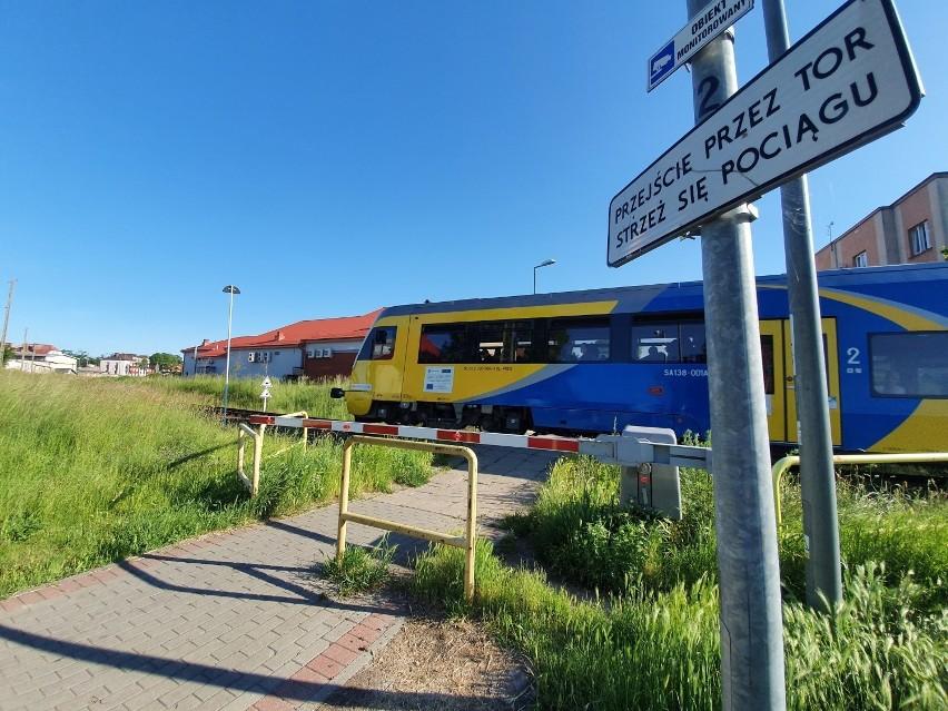 Puck: Pociąg relacji Gdynia - Hel