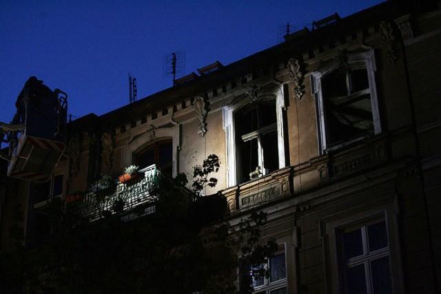 Śmierć w ogniu na ulicy Łukasińskiego w Legnicy.