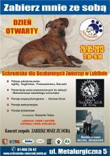 Zapraszamy na Dzień Otwarty w Schronisku dla Bezdomnych Zwierząt 26 maja