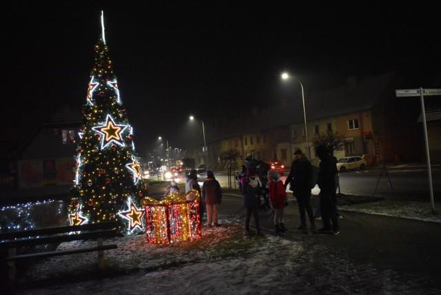 Na początku grudnia uruchomione zostały iluminacje świąteczne w Krośnie Odrzańskim.