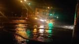 Nowy Targ. Intensywna ulewa zalała miasto. Główna ulica w mieście znalazła się pod wodą