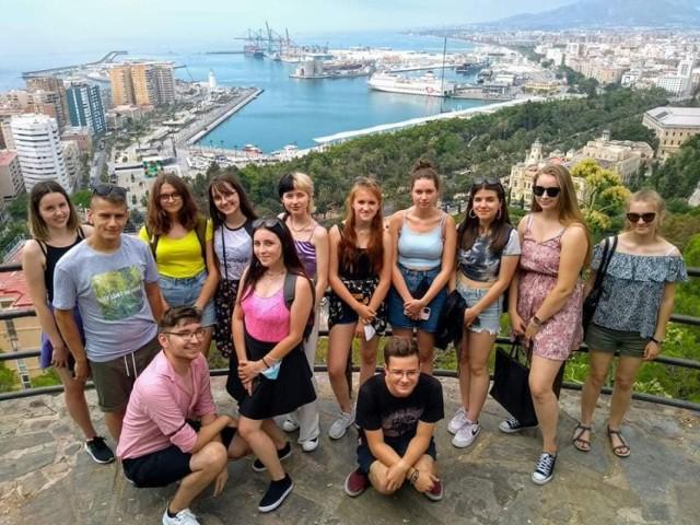 Hiszpańska przygoda uczniów Zespołu Szkół w Zduńskiej Woli Karsznicach