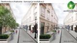 Kraków. Przebudowa Sławkowskiej. Wizualizacje, a efekt?