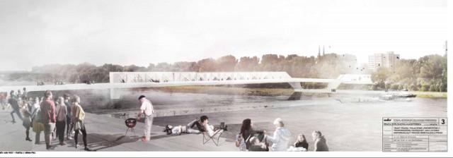 W Warszawie powstanie most pieszo-rowerowy? Trakt Praski ma szansę na realizację