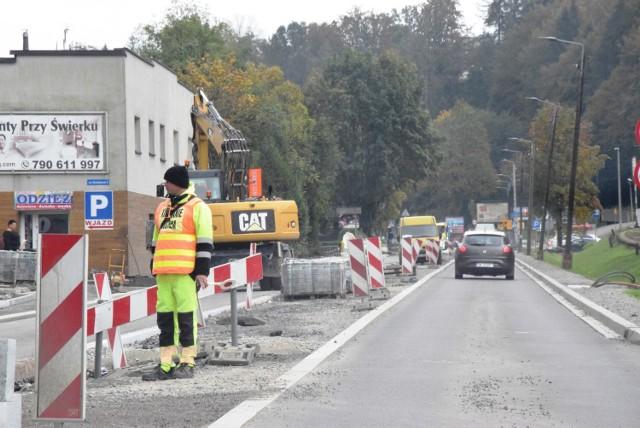 Remont DW 941 to jedna najbardziej uciążliwych dla mieszkańców i turystów inwestycja w regionie w woj. śląskim.  Zobacz kolejne zdjęcia. Przesuwaj zdjęcia w prawo - naciśnij strzałkę lub przycisk NASTĘPNE