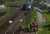Katowice: W Piotrowicach pociąg pendolino potrącił kobietę. Ruch kolejowy na trasie Katowice - Tychy wstrzymany ZDJĘCIA