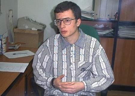 FOT. LESZEK GRABOWY - Lubię nauczać. W mojej rodzinie od kilku pokoleń wszyscy są nauczycielami - mówi Łukasz Kiełbowicz.