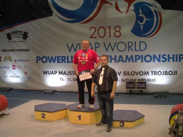 Tomaszowianin Mirosław Orłowski pobił rekord świata