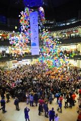 Lubin. Był wielki zrzut balonów i nagrody, będzie zrzut kwiatów i bony na zakupy!