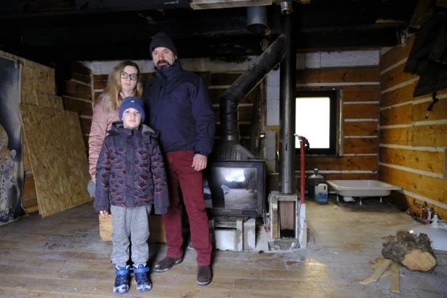 Rodzina zbiera pieniądze na odbudowę domu