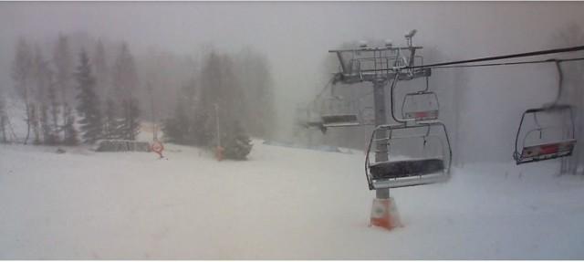Warunki narciarskie w Beskidach, luty 2020
