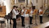Letnia Akademia Instrumentów Dętych Blaszanych w Kaliszu. Koncert w kościele franciszkanów. ZDJĘCIA