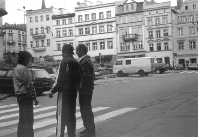 Nowa Ruda, Rynek, lata 90.
