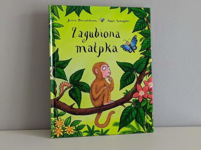 """""""Zagubiona małpka"""" podbija serca najmłodszych. To piękna i mądra książka"""
