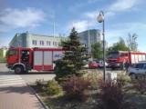 Alarm bombowy w Urzędzie Skarbowym w Goleniowie. Na miejscu straż pożarna i policja