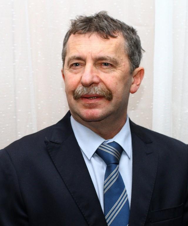 Wojciech Ostrowski, burmistrz Sulejowa dojechał rowerem do Rzymu