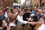 Prezydent Andrzej Duda w Toruniu! Zobacz zdjęcia!