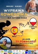 Z Siemianowic Śląskich do Madrytu na rowerze. W podróż w szczytnym celu wyrusza Tomasz Dzierga. Wyprawa wspomoże leczenie małego Antosia