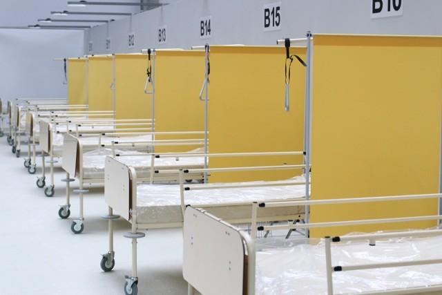 Szpital polowy ma sprawić, że pozostałe lecznice będą przywracane do swojej pierwotnej funkcji.