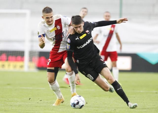ŁKS grał w Pucharze Polski z Cracovią