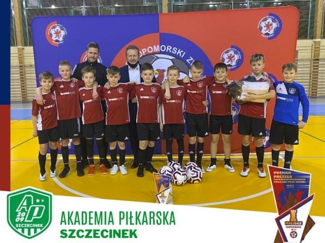 Zwycięski zespół AP Szczecinek