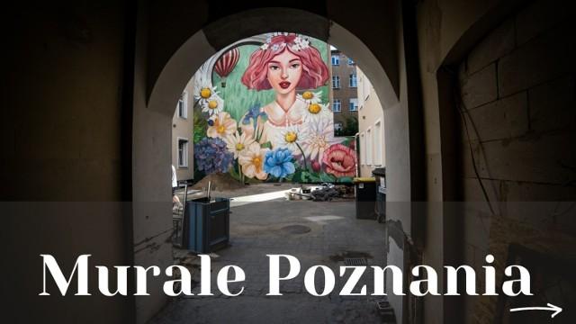 W Poznaniu przybywa murali. Na budynkach miasta malują znani artyści i uczestnicy festiwali. Gdzie je znaleźć? Przejdź dalej i sprawdź --->