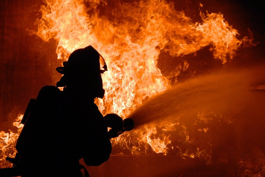 W pożarze budynku przy ulicy Wiejskiej zginęło dwóch...