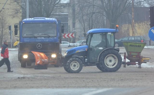 Akcja zima 2014 w Łodzi