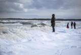 Piękna i lodowa plaża powstała na Wyspie Sobieszewskiej! Zobacz niesamowite zdjęcia