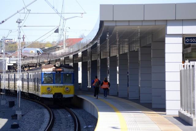 Pociągi SKM nie kursują między Śródmieściem i Wrzeszczem