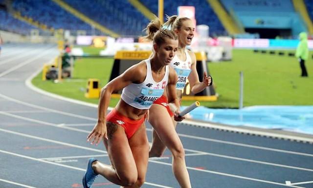 Klaudia Adamek z Gwardii Piła wystąpiła w Tokio w biegu sztafetowym 4x100 m. Polki zostały sklasyfikowane na dziesiątym miejscu