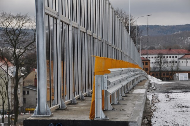 Budowa obwodnicy Wałbrzycha styczeń 2021