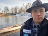 Podróż dookoła Polski mieszkańca Skowarcza. Dariusz Skolimowski spływ Nysą i Odrą - pierwszy etap ma za sobą |ZDJĘCIA