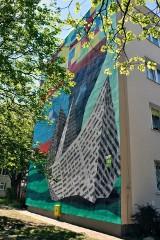 Nowe murale na Zaspie i we Wrzeszczu  [ZDJĘCIA]