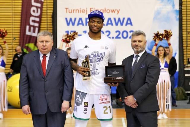 Shawn Jones - MVP Suzuki Puchar Polski 2020