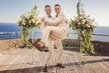 Jakub i Dawid wzięli ślub na Maderze. Zobaczcie zdjęcia [GALERIA, WIDEO]
