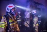 Pożar w Sosnowcu. Te unikalne fotografie wykonał strażak - zobaczcie je w naszej galerii. To niebezpieczna robota